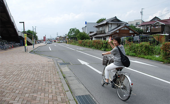 Let cycling!安全運転で、いってらっしゃい!!