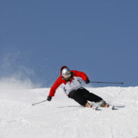 スキーヤー1