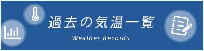 過去の天気一覧