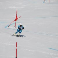 スキー大会①